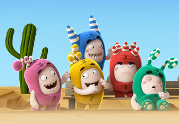 Oddbods Wallpaper 3