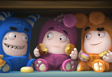 Oddbods Wallpaper 6
