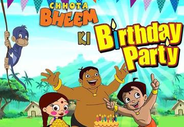 Bheem Birthday Party Pogo Tv Pogo Tv