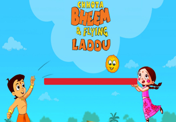Chotta Bheem Flying laddu