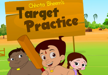 Chhota Bheem Target Practice