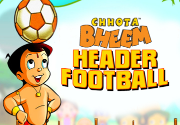 Chhota Bheem Header Football