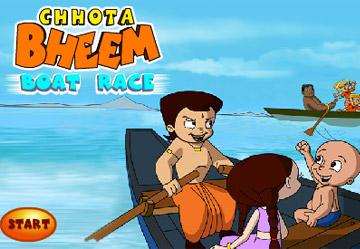 Chhota Bheem Boat Race