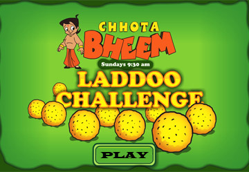 Chhota Bheem Laddoo Challenge