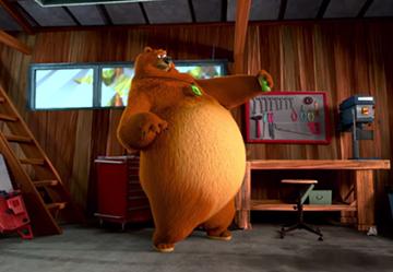 Bear Itch Clip 1