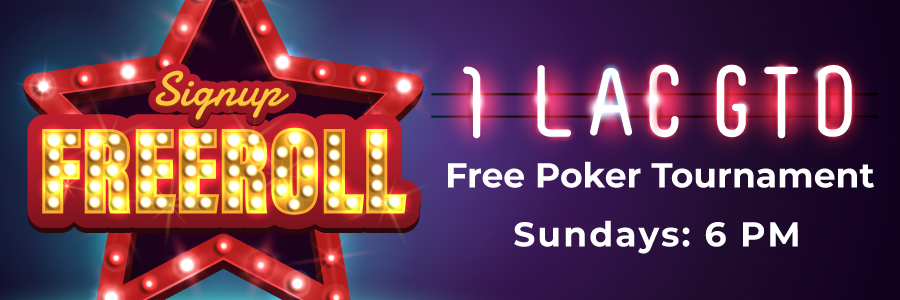 Signup Freeroll