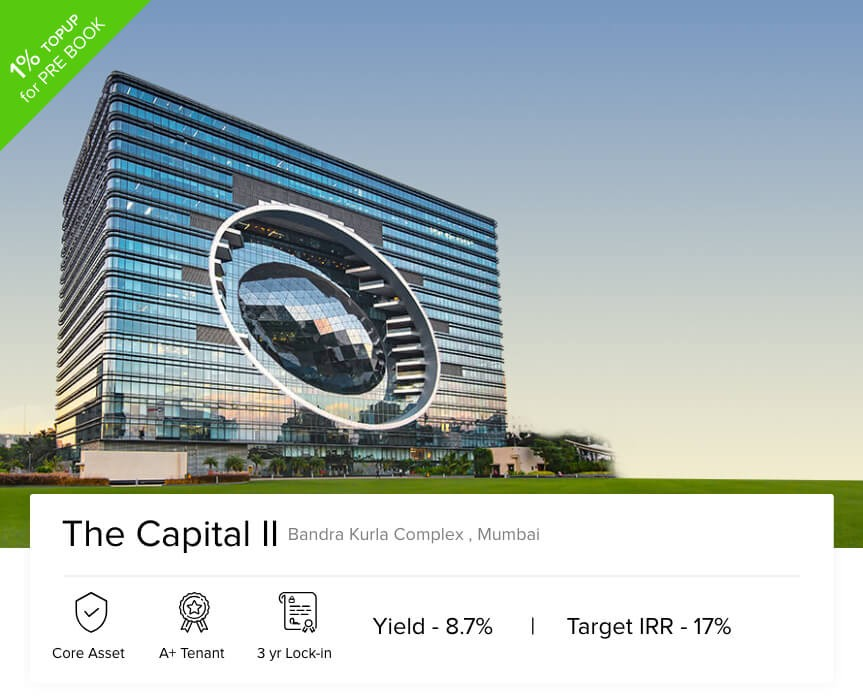 Webinar [27th Feb 2019]: The Capital II, Mumbai - 8.7% Yield and 17% IRR