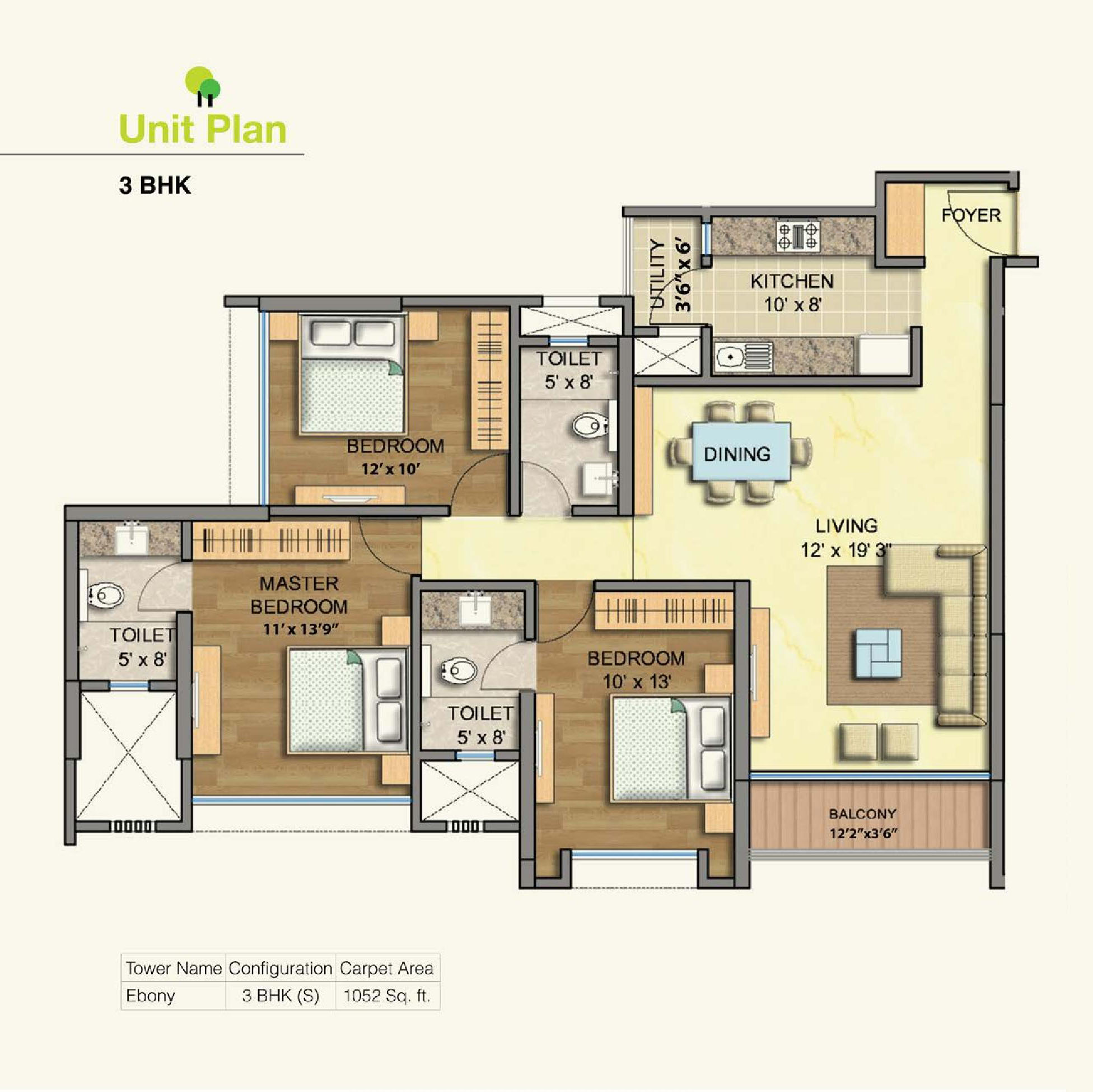 Flat for sale in Runwal Greens, Mulund West