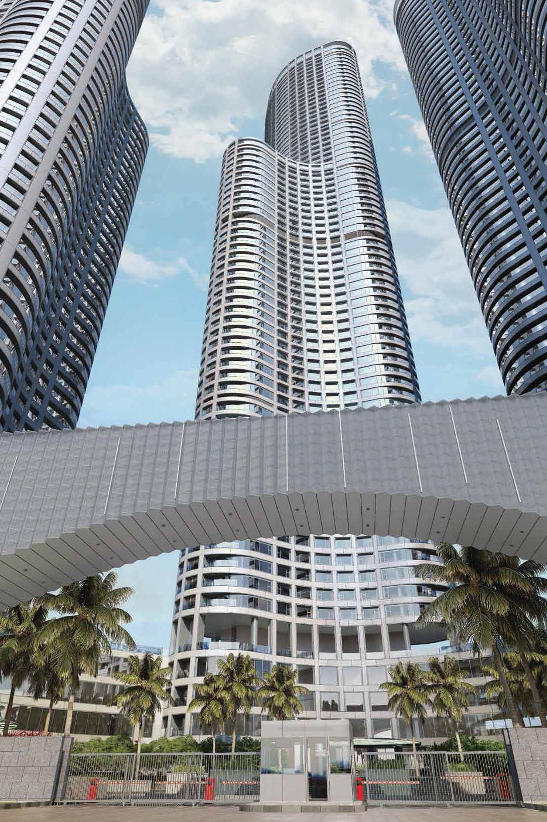 Flat on rent in World Crest , Lower Parel