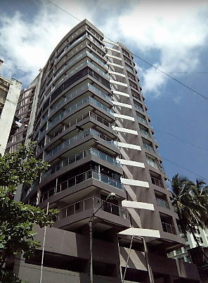 Flat on rent in Pioneer Heights, Khar West