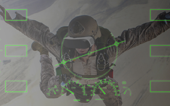 The military forces can start functioning with greater safety and enhanced skill by using VR simulations and augmented reality trainings