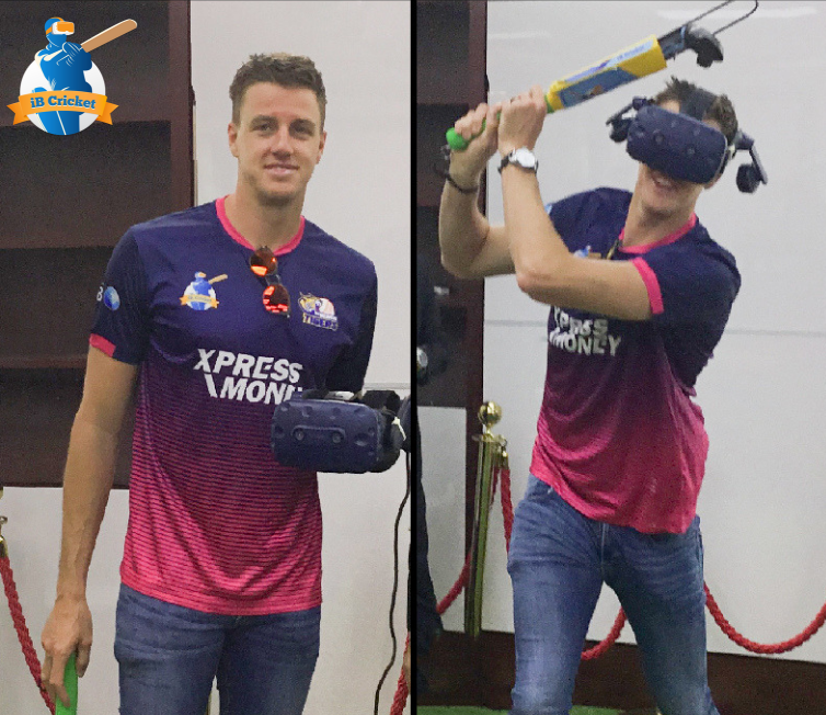 Morne Morkel had a thrilling experience in VR after playing iB Cricket!