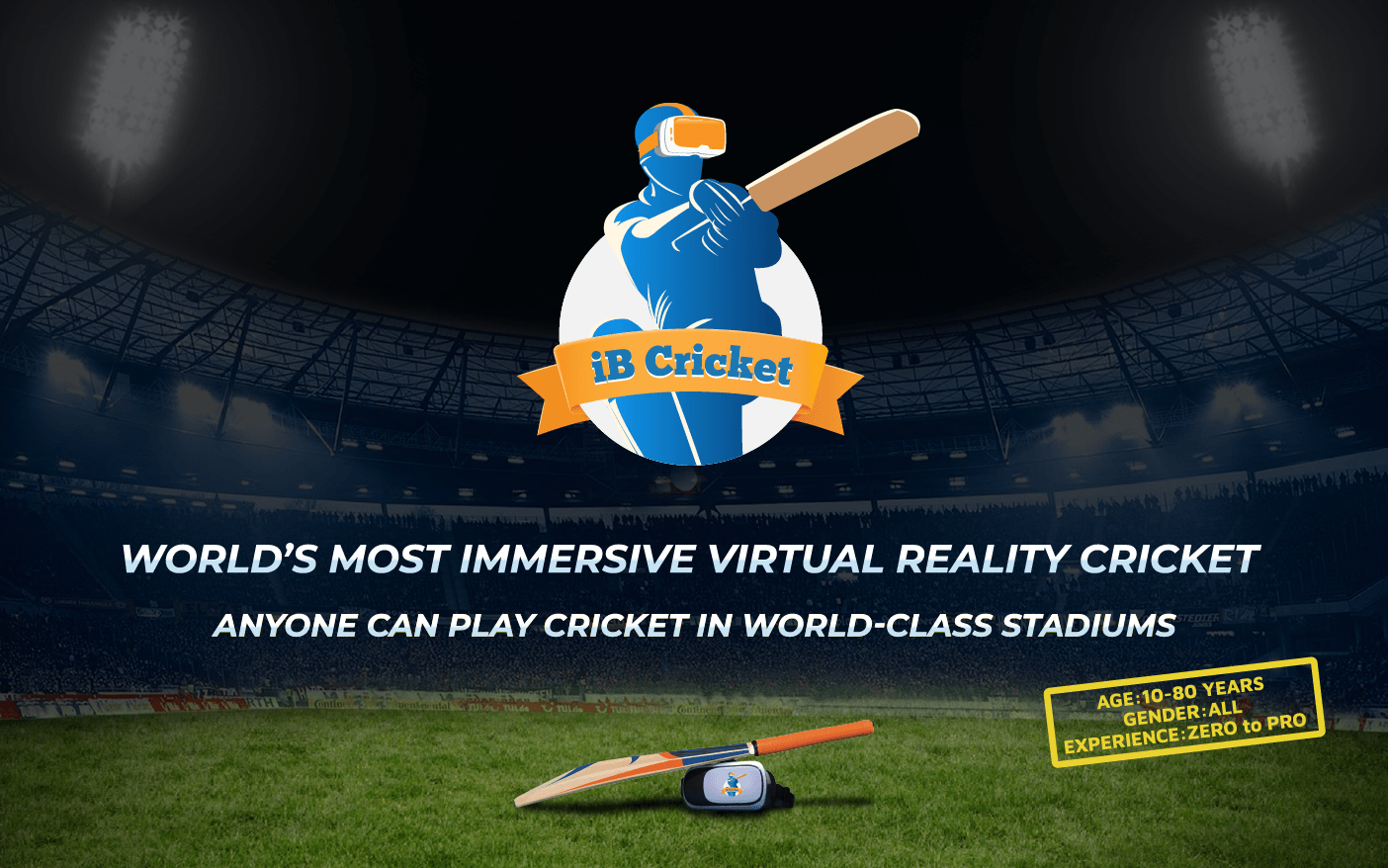 World's Most Immersive VR Cricket