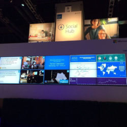 Microsoft // TV Dashboards for Conference