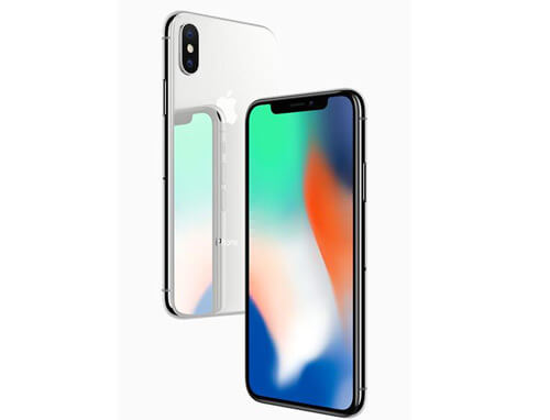 Apple iPhone X (256 GB Silver)
