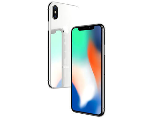 Apple iPhone X (64 GB Silver)