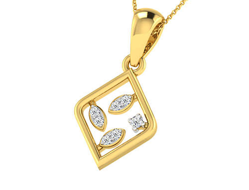Royce 0.05ct Diamond Pendant
