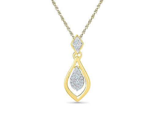 Princess Diamond Pendent