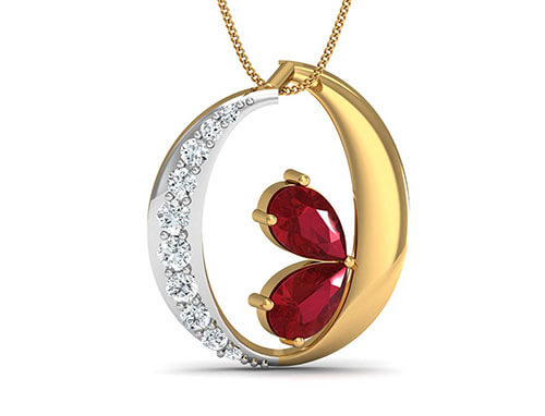 Shanaya 0.12ct Diamond Pendant