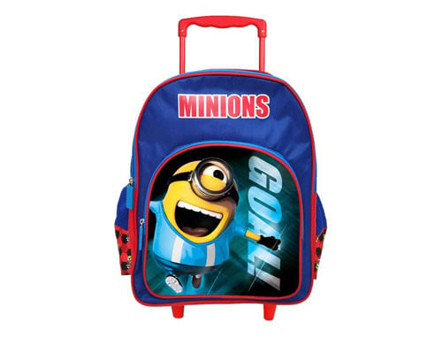 MINION TROLLEY SCHOOL BAG