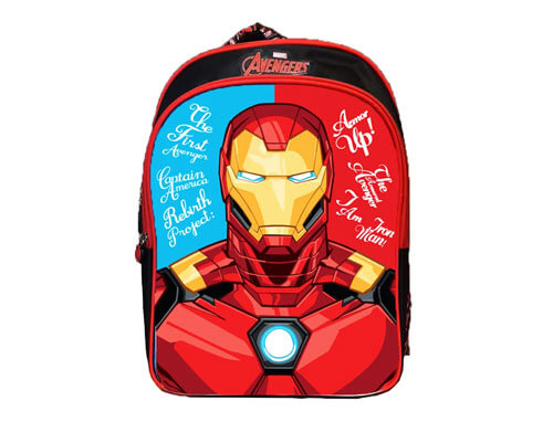 AVENGERS IRON MAN SCHOOL BAG