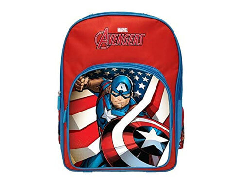 AVENGERS CAPTAIN AMERICA SCHOOL BAG