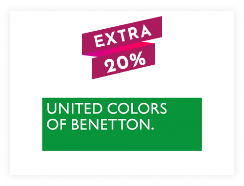 United Colors of Benetton Instant Gift Voucher Rs. 1000