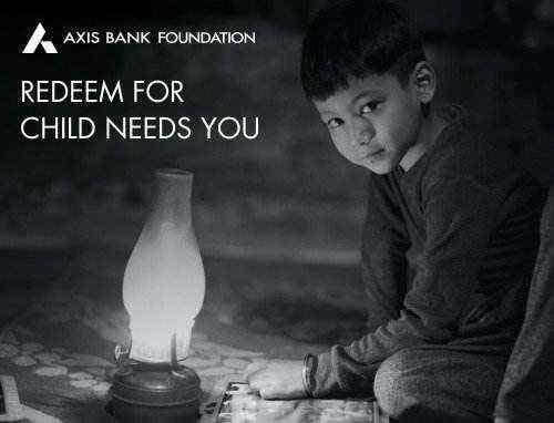 Child Needs You Rs. 250