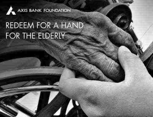 A hand for the elderly Rs. 1500