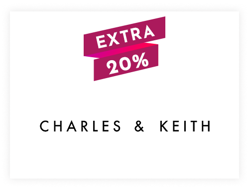 Charles & Keith Instant Gift Voucher Rs. 500