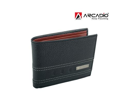 Arcadio Twogether Leather Wallet