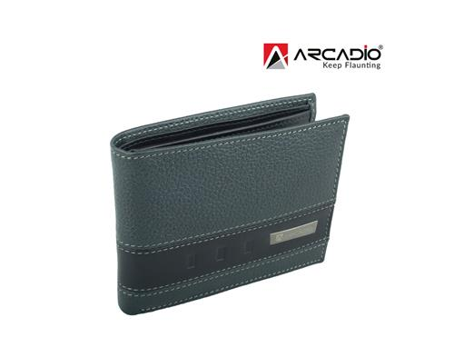 Arcadio Twin Fun Leather Wallet