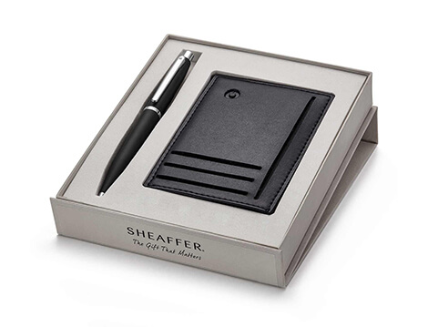 Sheaffer Ballpoint Pen With Credit Card Holder