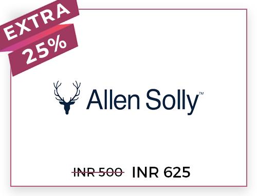 Allen Solly Rs. 500
