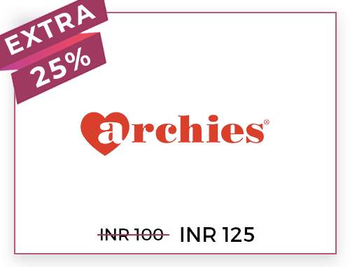 Archies Rs. 100