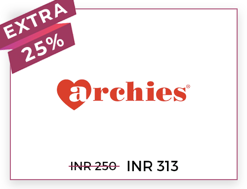 Archies Rs. 250