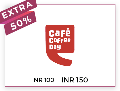 Cafe Coffee Day (Online) Rs. 100