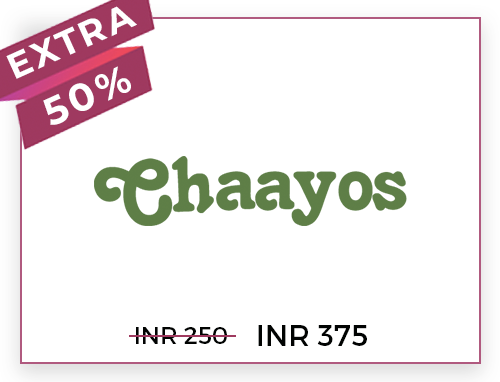 Chaayos Rs. 250