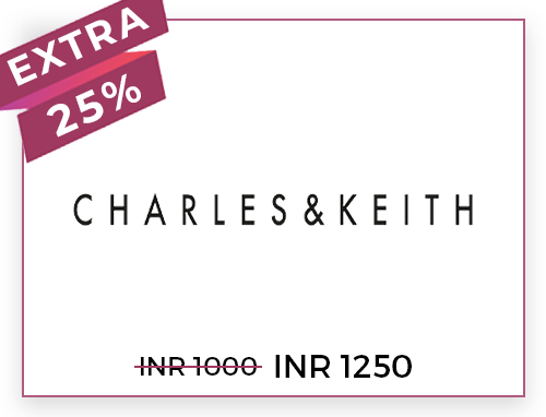 Charles & Keith Rs. 1000