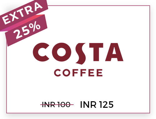 Costa Coffee Rs. 100
