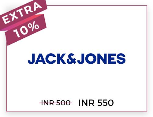 Jack & Jones Rs. 500