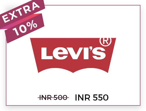 Levis Rs. 500