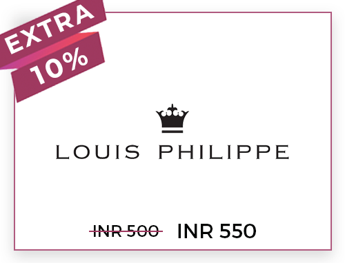 Louis Philippe Rs. 500