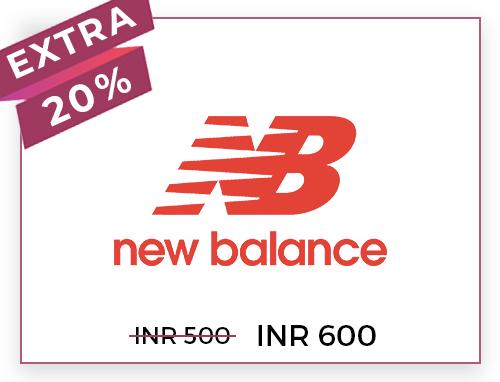 NEW BALANCE Rs. 500