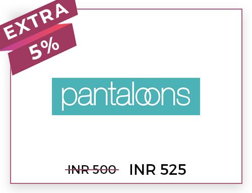 Pantaloons Rs. 500