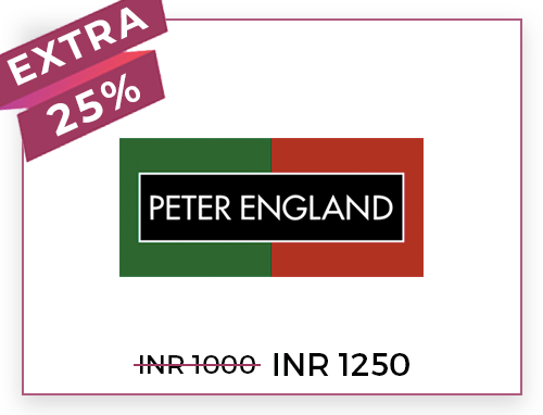 Peter England Rs. 1000