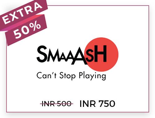 Smaaash Rs. 500