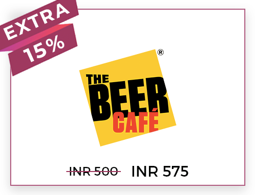 The Beer Cafe Rs. 500