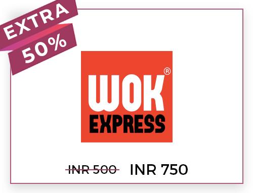 WOK EXPRESS Rs. 500