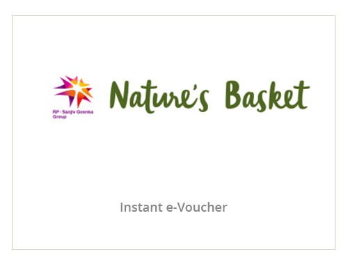 Nature's Basket Rs. 500